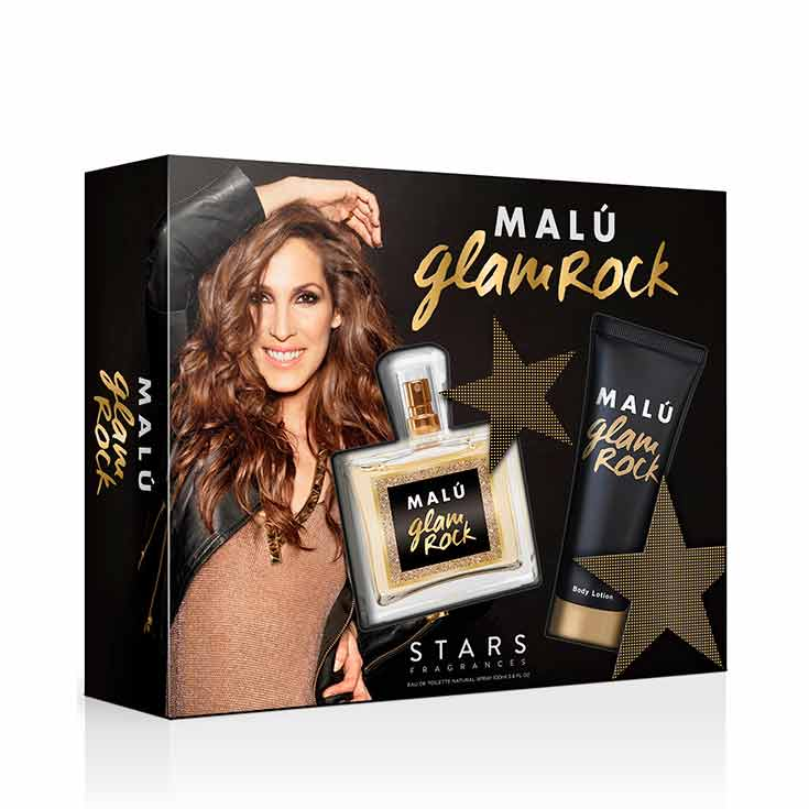 Estuche Malú Glam Rock 100 ml.
