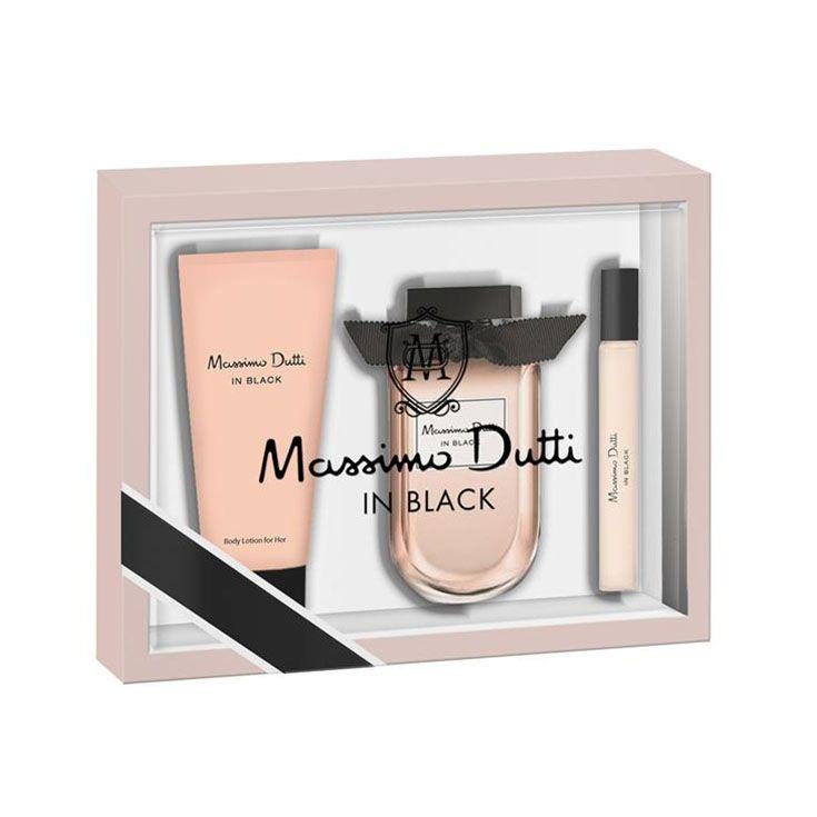 Estuche Massimo Dutti In Black Her 80 ml.
