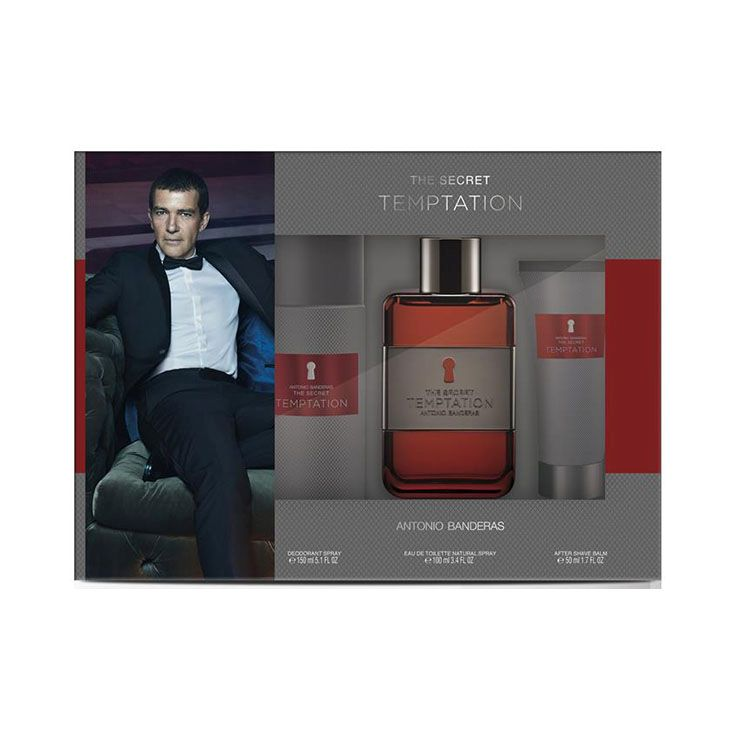Estuche Antonio Banderas The Secret Temptation 100 ml.