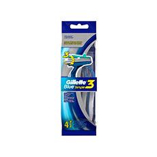 Gillette Blue Simple3 Maquinillas Desechables 4 uds