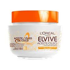 Elvive Aceite Ectraordinario Aceite de Coco Mascarilla 300 ml