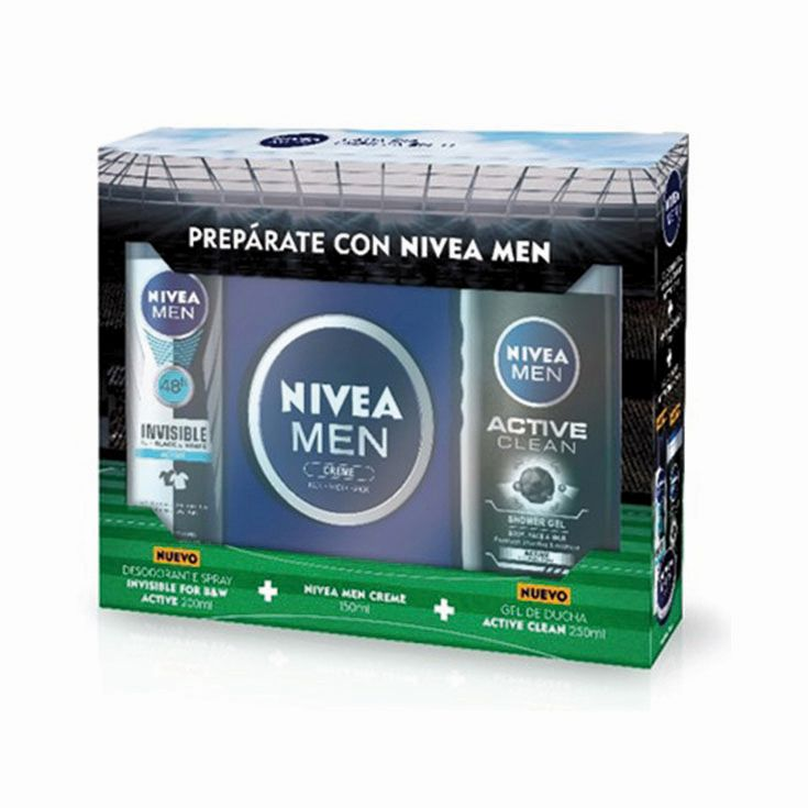 NIVEA MEN PACK ACTIVE CLEAN