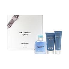 Dolce & Gabbana Light Blue Eau Intense Pour Homme Estuche 3 Piezas