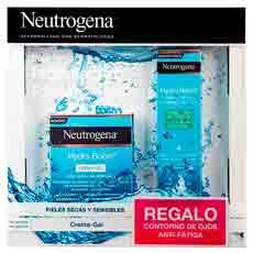 Neutrogena Hydra Boost Estuche: Crema Gel Hidratante 50 ml + Contorno Ojos Anti-Fatiga 15 ml