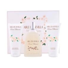 Aire De Sevilla Rosas Blancas Estuche 3 Piezas