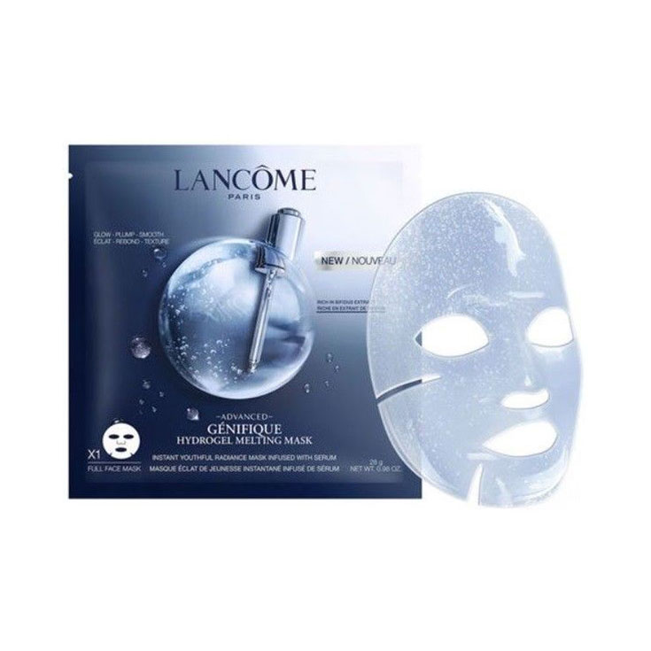 Lancôme Advanced Génifique Mascarilla Fundente Hidrogel Efecto Flash