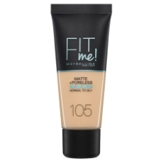 MAYBELLINE BASE DE MAQUILLAJE FIT ME MATTE & PORELESS