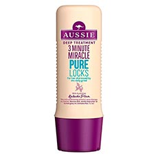 Aussie Mascarilla Tratamiento Intensivo 3 Minute Miracle Pure Locks 250 ml