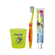 Pierrot Kit Dental Piwi 3 Piezas