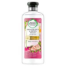 Herbal Essences Fresa Blanca y Menta Dulce Champú 400 ml