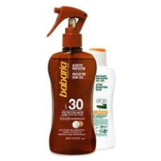 Babaria Aceite Solar Spf30 200ml+ Regalo Aftersun