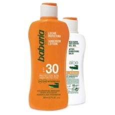 Babaria Leche Solar Spf30 200ml + Regalo Aftersun