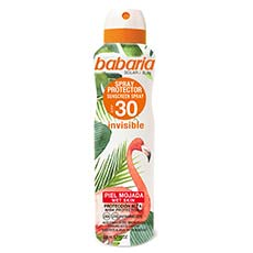 Babaria Tropical Sun Spray Protector Piel Mojada SPF 30 200 ml