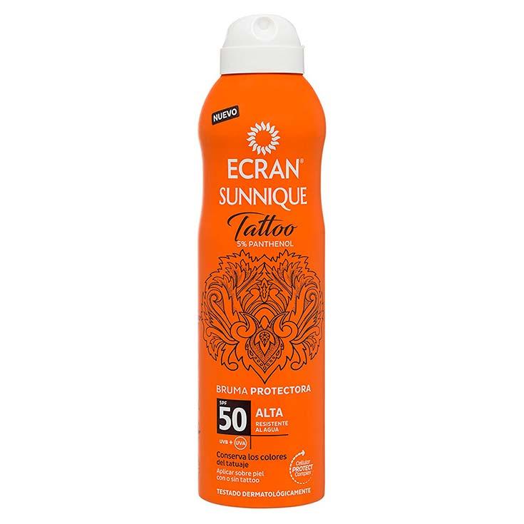 Ecran Sunnique Tattoo Bruma Protectora SPF50 250 ml