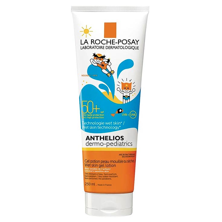 La Roche Posay Anthelios Dermo-Pediatrics Wet Skin SPF50+ 250 Ml