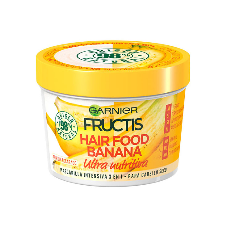FRUCTIS MASCARILLA HAIR FOOD BANANA