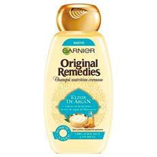 Garnier Original Remedies Elixir de Argán Champú Nutritivo y Cremoso 300 ml