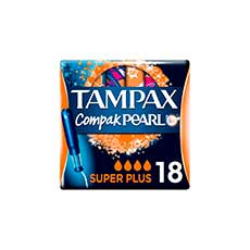 Tampax Compak Pearl Super Plus Tampones 18 uds