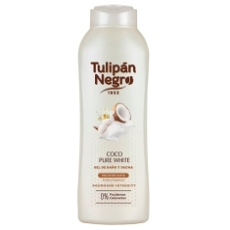 TULIPÁN NEGRO GEL COCO PURE WHITE