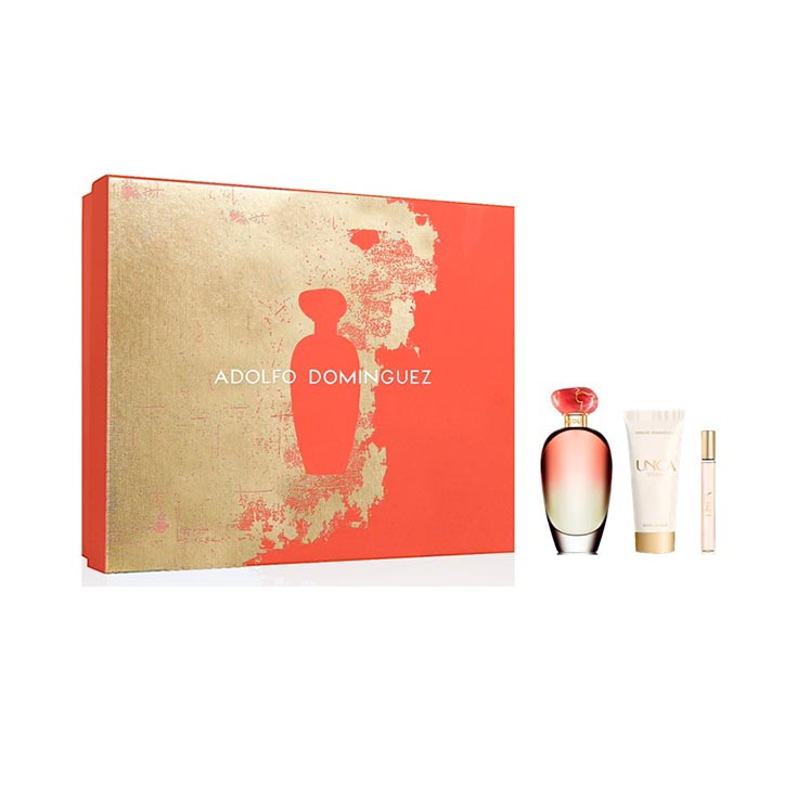 ADOLFO DOMINGUEZ UNICA CORAL ESTUCHE 100 ML