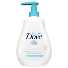 DOVE GEL BABY RICH MOISTURE 400 ML