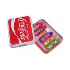 ESTUCHE METAL LIP SMACKER COCA COLA