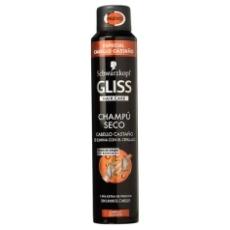 Gliss Champu En Seco Cabellos Castaños Spray 200ml