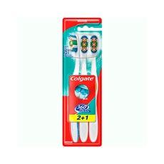 Colgate 360 Medio Cepillo Dental 2+1 uds