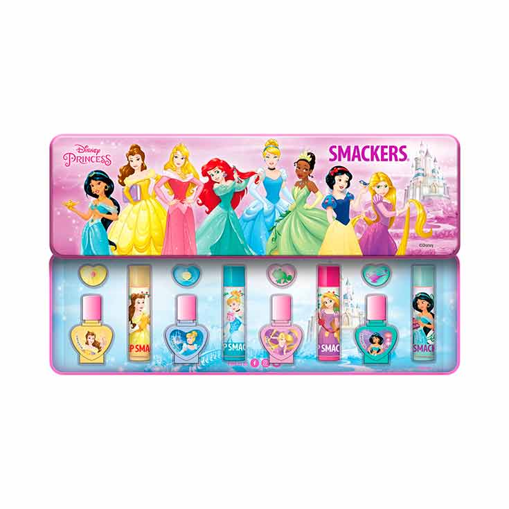 LIP SMACKER ESTUCHE DISNEY PRINCESS