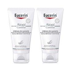 Eucerin AtopiControl Crema de Manos 2x75 ml