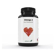 Ebers Omega 3 Con Vitamina E 50 cápsulas 1000 mg