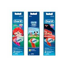 Oral-B Kids Cepillo Dental Infantil Recambio 2 uds