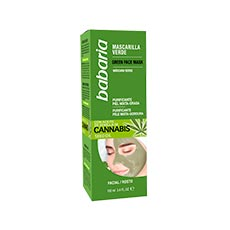 Babaria Mascarilla Verde Cannabis 100 ml