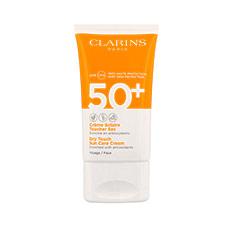 Clarins Crema Solar De Rostro Tacto Seco De Muy Alta Protección Uvb 50 Uva 50 Ml