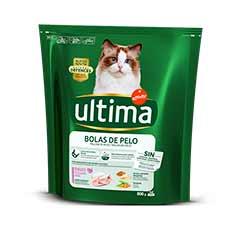 Ultima-Affinity Cat Bolas de Pelo con Pavo 800 g