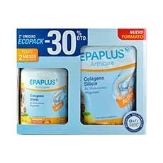 Epaplus Arthicare Colágeno Silicio Sabor Limón Estuche Bote 334 g + Doypack 334 g