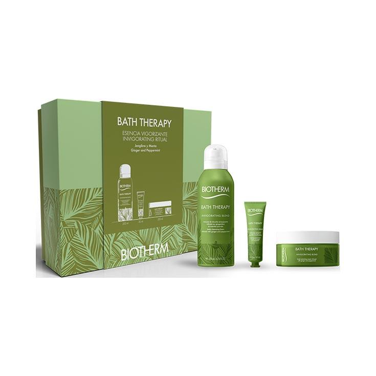 Biotherm Cofre Bath Therapy Invigorating Blend 3 Piezas
