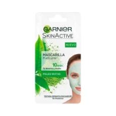 Garnier Skinactive Mascarilla Purificante Con Té Matcha Y Arcilla