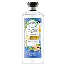 Herbal Essences Agua Micelar & Jengibre Azul Champú 400 Ml
