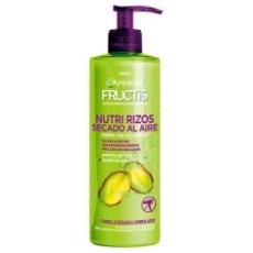 Fructis Tratamiento Nutri Rizos Crema Sin Aclarado 400 Ml