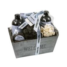 Perfumania Set De Baño Con Carbón 7 Piezas