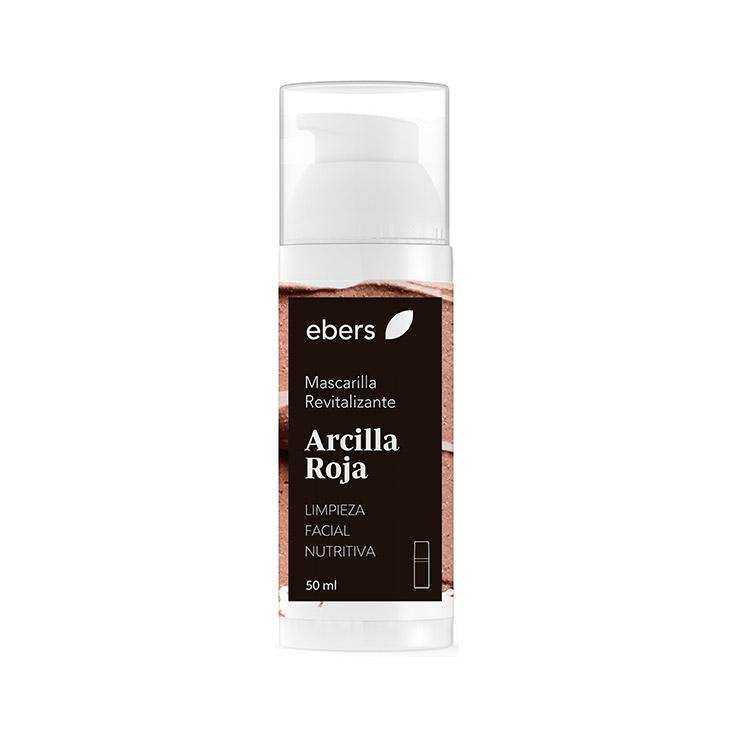 Ebers Mascarilla Revitalizante De Arcilla Roja 50ml