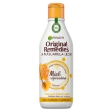 GARNIER ORIGINAL REMEDIES MASCARILLA-LECHE MIEL REPARADORA 250ML