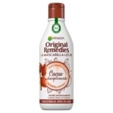 Garnier Original Remedies Mascarilla-Leche Al Cacao Disciplinante 250ml