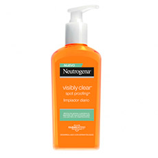 Neutrogena Visible Clear Gel Limpiador 200 ml