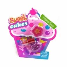 Discoteen Set De Cosmética Infantil Sweet Cakes