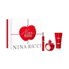 Nina Ricci Rouge Eau De Toilette 50 Ml Estuche 3 Piezas