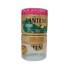 Pantene Suave y Liso Duplo Mascarilla Capilar 2 x 300 ml