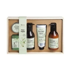 IDC Institute Pure Vegan Set de Baño 5 Piezas