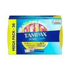 Tampax Compak Pearl Regular Tampón 36 uds